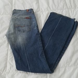 7 for all mankind boot cut Jerome Dahan size 27